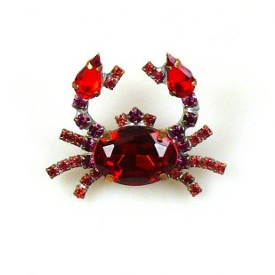 Crab Small ~ Red