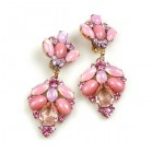 Sweetness Earrings Clips ~ Pink