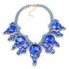 Taj Mahal Necklace ~ Blue
