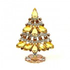 Xmas Tree Standing Decoration 2018 #18 ~ Topaz Clear