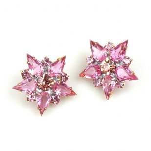True Love Earrings Pierced ~ Pink
