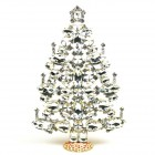 2020 Xmas Tree Decoration 21cm Navettes ~ Clear Crystal