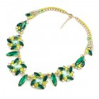 Empathy Necklace ~ Emerald Green Yellow