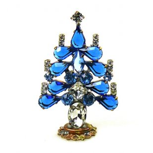 Xmas Tree Standing Decoration 2018 #16 ~ Blue