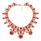 Echoes Necklace ~ Ruby Red