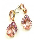 Mon Cheri Earrings Pierced ~ Rose
