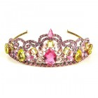 Royal Sense Tiara ~ Yellow Pink