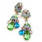 Parisienne Bloom Earrings Clips ~ Spring