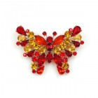 Butterfly Multicolor Pin ~ #2