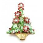 Christmas Flower Pin ~ #2