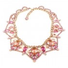 Roxanne Necklace ~ Pink