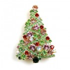 Xmas Tree Brooch #11 ~ #08