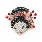 Geisha Brooch ~ Head