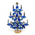 Xmas Tree Standing Decoration 2019 #15 ~ Blue Aqua