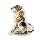 Doggie Brooch