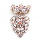 Order Brooch ~ Crown ~ Pink