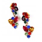 Fantaisie Earrings Pierced ~ Multicolor