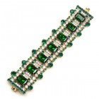 Crystaline Bracelet ~ Medium ~ Crystal Emerald Green