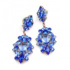 Fatal Passion Earrings Pierced ~ Blue