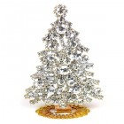 Xmas Tree Standing Decoration 2020 #08 Clear Crystal