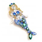 Mermaid Brooch #1