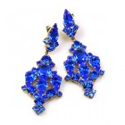 Fatal Kiss Earrings Pierced ~ Blue