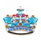 Monarch Crown ~ Aqua