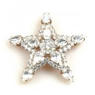 Christmas Star Brooch ~ Bigger