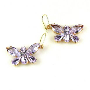 Butterflies Earrings ~ Violet