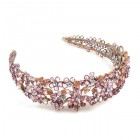 Forget-Me-Not Headband Tiara ~ Light Pink