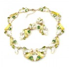 Touch the Sky Set ~ Yellow Green Crystal