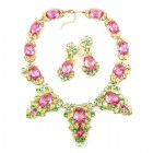 Mythique Set ~ Pink with Yellow and Peridot
