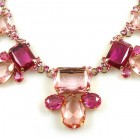 Jelly Belly Necklace Set ~ Pink Fuchsia