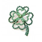 Four-Leaf-Clover Pin