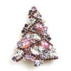 Xmas Tree Brooch #11 ~ #07