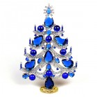 Xmas Tree Standing Decoration 2018 #02 ~ Blue Clear