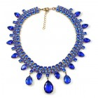 Raindrops Necklace ~ Blue