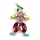 Clown Brooch #1