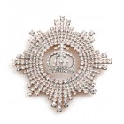 Pomp Crown Brooch