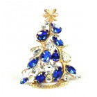 Xmas Tree Standing Decoration 2020 #13 ~ Blue Clear