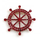 Ships-Wheel Brooch
