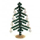 Decoration Xmas Tree with Dangling Rondelles #3 ~ Emerald