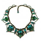 Roxanne Necklace ~ Emerald