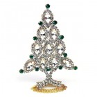 Xmas Tree Standing Decoration 2018 #10 Clear Emerald