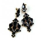 Fatal Kiss Earrings Pierced ~ Black
