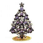 Xmas Tree Standing Decoration 2020 #19 ~ Purple Violet Clear