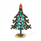 Xmas Tree Standing Decoration 2020 #07 ~ Emerald Red