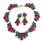 Mood Therapy Set ~ Red Blue Emerald
