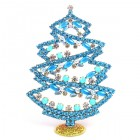 2019 Xmas Tree Stand-up Decoration 17cm with Cabochons