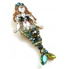 Mermaid Brooch #2